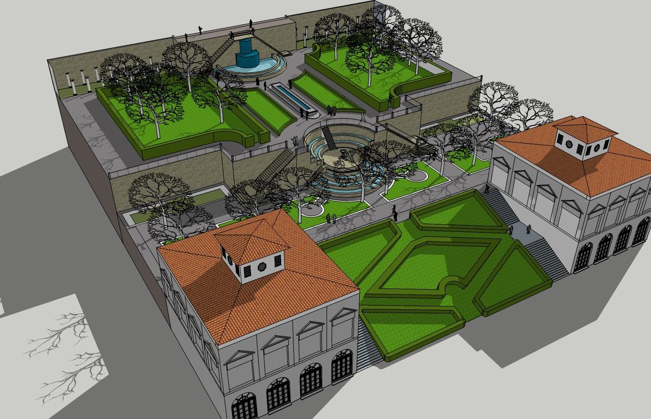 Jsw designs for Pool design sketchup